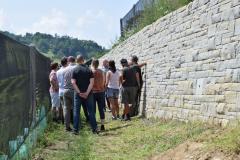 Thaler-Trockensteinmauer